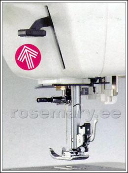 Presstald tõuseb kuni 10 mm.